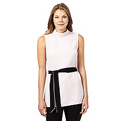 Principles by Ben de Lisi - Designer light pink roll neck top