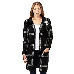 Principles by Ben de Lisi - Designer black checked cardigan