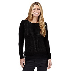 Principles by Ben de Lisi - Black sequin jumper