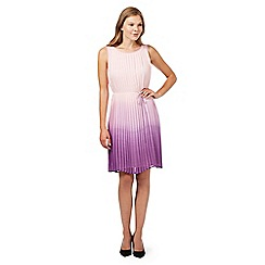 Principles by Ben de Lisi - Designer pink pleated ombre dress