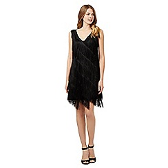 Principles by Ben de Lisi - Black fringed dress