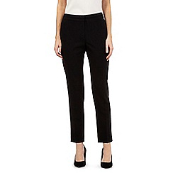 Principles Petite by Ben de Lisi - Black tapered trousers