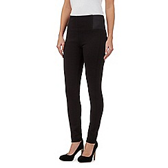 Principles Petite by Ben de Lisi - Black slim trim leggings