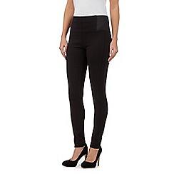 Principles by Ben de Lisi - Black slim trim leggings