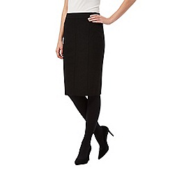 Principles Petite by Ben de Lisi - Black pencil skirt