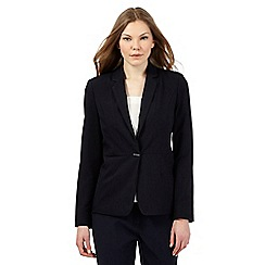 Principles Petite by Ben de Lisi - Navy structured blazer