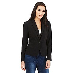 Principles Petite by Ben de Lisi - Black crop jacket
