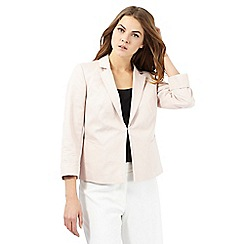 Principles by Ben de Lisi - Light pink ottoman short jacket