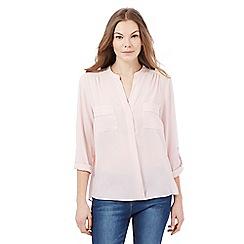Principles by Ben de Lisi - Pink utility shirt