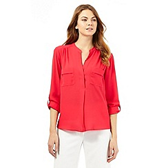 Principles by Ben de Lisi - Bright pink utility shirt