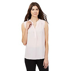 Principles Petite by Ben de Lisi - Light pink sleeveless shirt