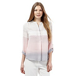 Principles by Ben de Lisi - Light pink ombre-effect shirt