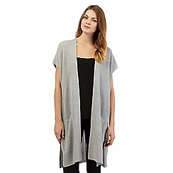 Principles by Ben de Lisi - Grey longline cardigan