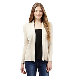 Principles by Ben de Lisi - Beige edge to edge cardigan