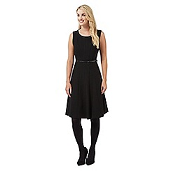Principles Petite by Ben de Lisi - Black pleated dress
