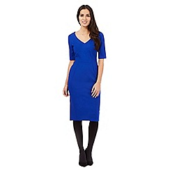 Principles by Ben de Lisi - Blue panel structured dress
