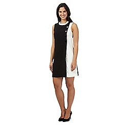 Principles by Ben de Lisi - Black monochrome button dress