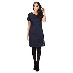 Principles by Ben de Lisi - Dark blue denim shift dress