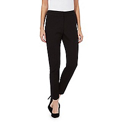 Principles by Ben de Lisi - Black cropped trousers