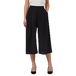 Principles by Ben de Lisi - Black pleated culottes