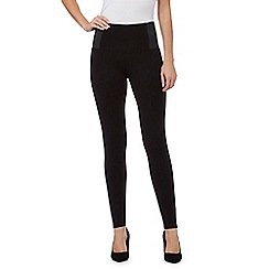 Principles by Ben de Lisi - Black 'Slim & Trim' fit leggings