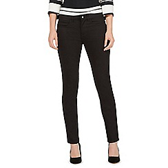 Principles by Ben de Lisi - Black mid waisted slim jeans