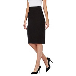 Principles Petite by Ben de Lisi - Black slim skirt