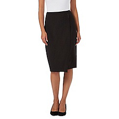 Principles by Ben de Lisi - Black bar trim skirt