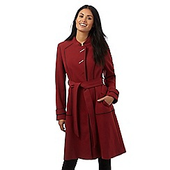 Principles by Ben de Lisi - Red contrasting trim coat