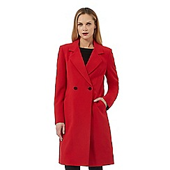 Principles by Ben de Lisi - Red double breasted coat