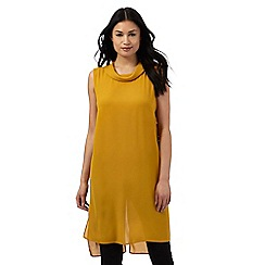 Principles by Ben de Lisi - Dark yellow longline tunic