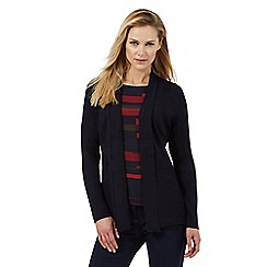 Principles by Ben de Lisi - Navy edge to edge cardigan