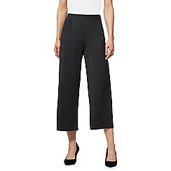 Principles by Ben de Lisi - Grey textured culottes