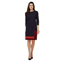 Principles by Ben de Lisi - Navy colour block dress