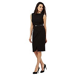 Principles by Ben de Lisi - Black belted suit dress
