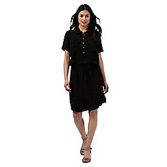 Principles by Ben de Lisi - Black utility shirt dress