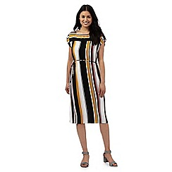 Principles by Ben de Lisi - Multi-coloured striped print dress