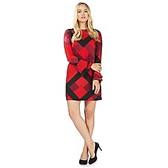 Principles by Ben de Lisi - Red printed trapeze dress