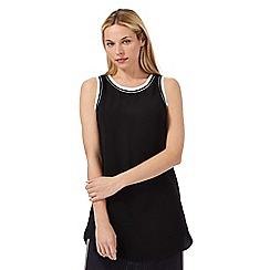 Principles by Ben de Lisi - Black tipped tunic top