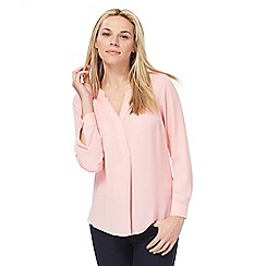 Principles by Ben de Lisi - Pink V-neck top