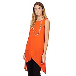 Principles by Ben de Lisi - Orange longline tunic
