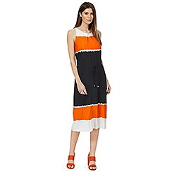 Principles by Ben de Lisi - Black dip dye jersey dress