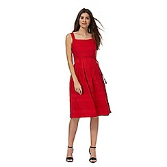 Principles by Ben de Lisi - Red striped dress