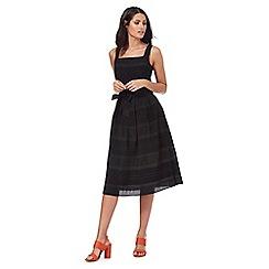 Principles by Ben de Lisi - Black striped dress