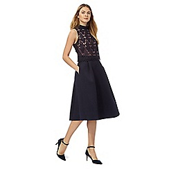 Principles by Ben de Lisi - Navy lace prom dress