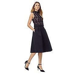 Principles by Ben de Lisi - Navy lace prom dress