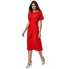 Principles by Ben de Lisi - Red layer tea dress