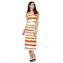 Principles by Ben de Lisi - Multi-coloured striped dress