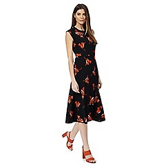 Principles by Ben de Lisi - Black floral print dress