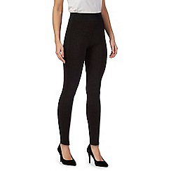 Principles by Ben de Lisi - Black elasticated waist leggings